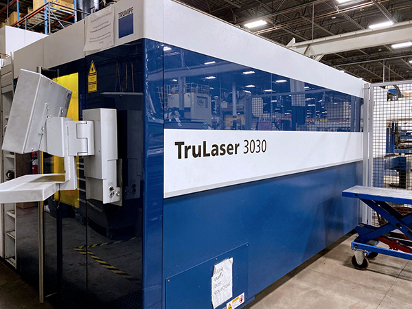Used Laser Cutting Machine Trumpf TruLaser 3030 Fiber 2014