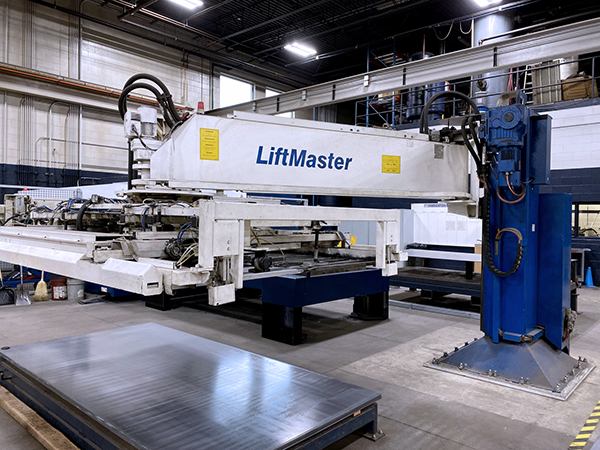 Used Laser Cutting Machine Trumpf TruLaser 3030 Fiber 2014