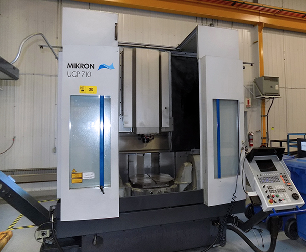 Used 5 Axis Machining Center Mikron UCP 710 5-AX 2002