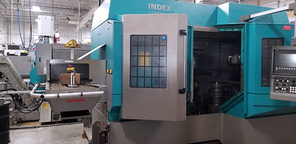 Used Vertical Machining Center Index V160G 2010