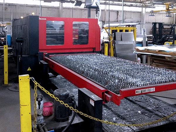 Used Laser Cutting Machine Amada FO3015 NT 2009