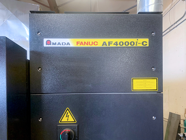 Used Laser Cutting Machine Amada FOMII 3015N 2015