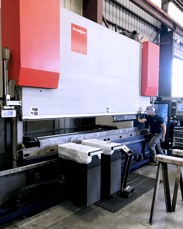 Used Hydraulic Press Brake Bystronic Xpert 400 2012