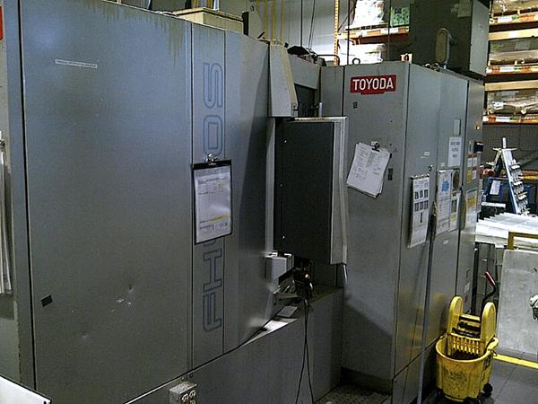 Used Horizontal Machining Center Toyoda FH450S 2008