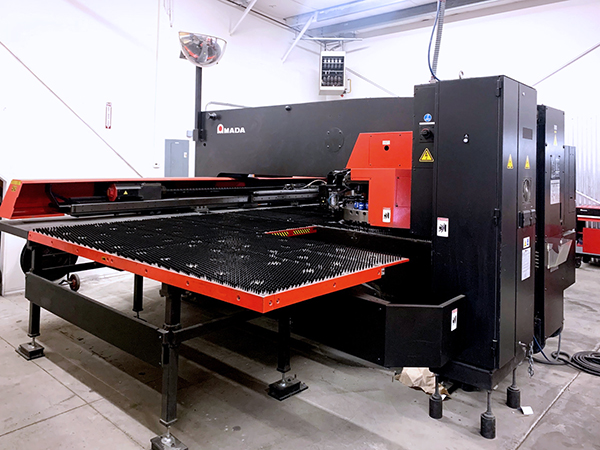 Used Turret Punch Amada AE2510NT (22) Ton 2012