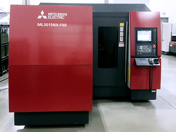 Used Laser Cutting Machine Mitsubishi ML 3015 NX F-40 Fiber 2014