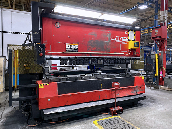 Used Hydraulic Press Brake Amada FBD 1253 NT 2001