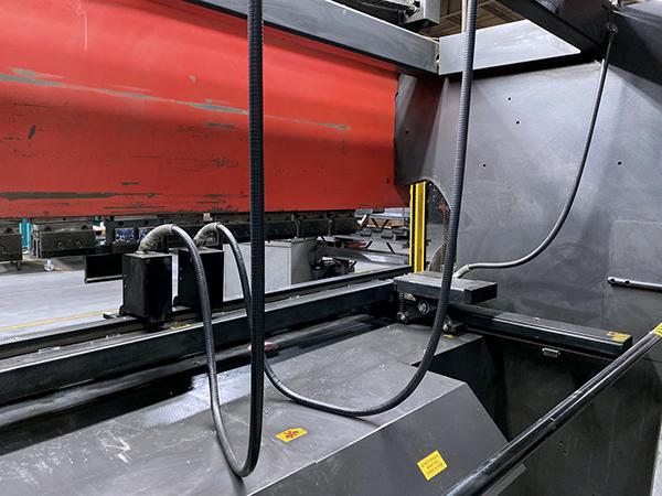 Used Hydraulic Press Brake Amada FBD 1253 NT 2001