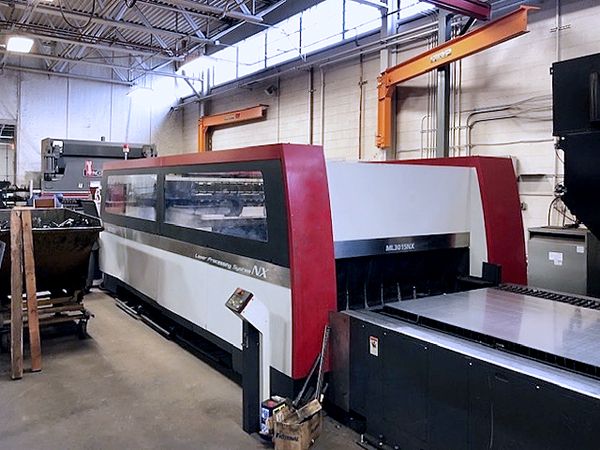 Used Laser Cutting Machine Mitsubishi ML 3015 NX 60XF 2009