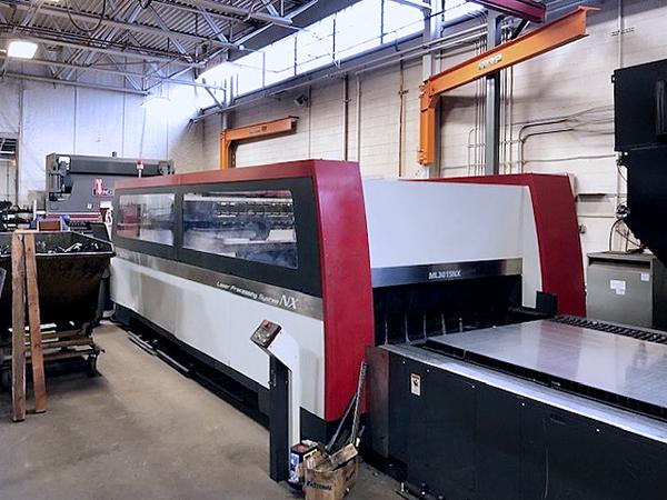 Used Laser Cutting Machine Mitsubishi ML 3015 NX 60XF 2009