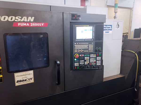 Used CNC Lathe Doosan Puma 2600SY 2015
