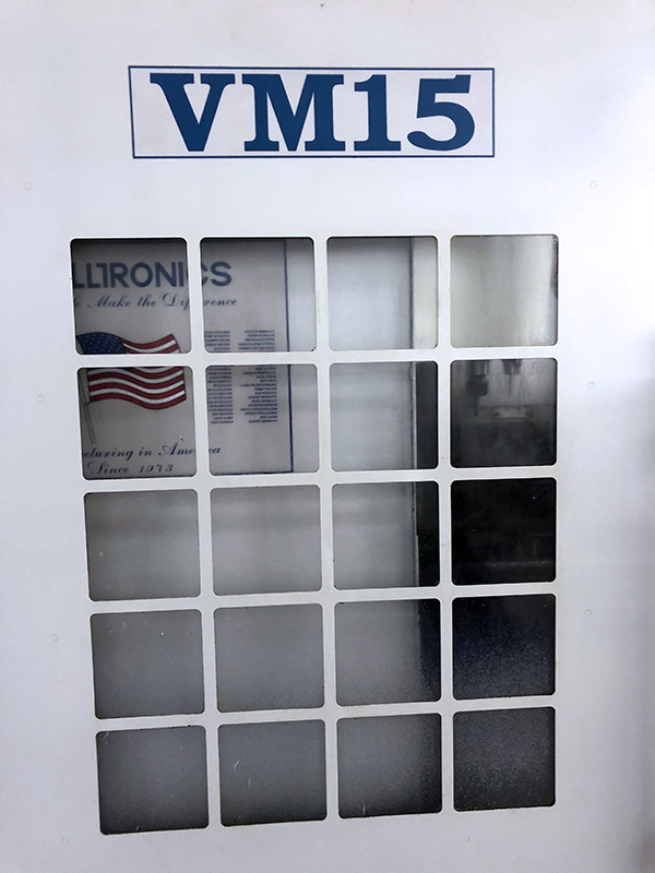 Used Vertical Machining Center Millitronics VM15 2003