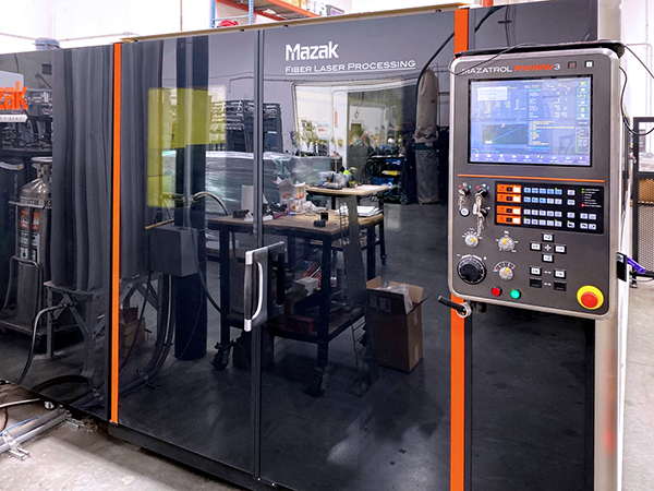 Used Laser Cutting Machine Mazak Optiplex 3015 Fiber II 2015