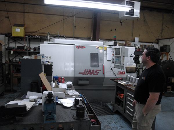 Used Vertical Turning Center Haas SL-30T 2000