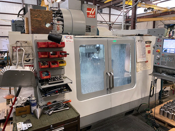 Used Vertical Machining Center Haas VF-3B 2007