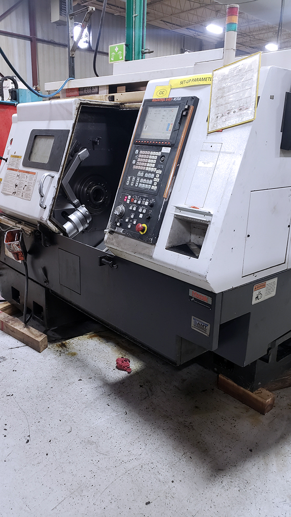Used CNC Turning Center Mazak Quick Turn Nexus 250 M 2005