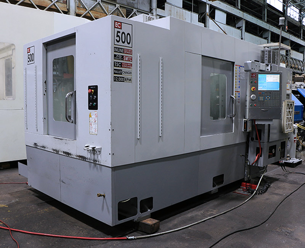 Used Horizontal Machining Center Haas EC-500 2008