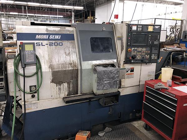 Used CNC Lathe Mori-Seiki SL-200SMC 1998