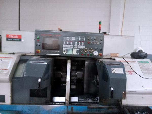 Used CNC Multi-Spindle Lathe Mazak Dual Turn 20 1996