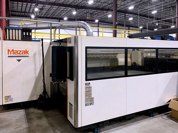 Used Laser Cutting Machine Mazak Optiplex 3015 2013