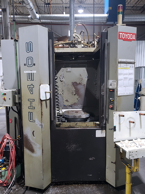Used Horizontal Machining Center Toyoda FH450S 2008