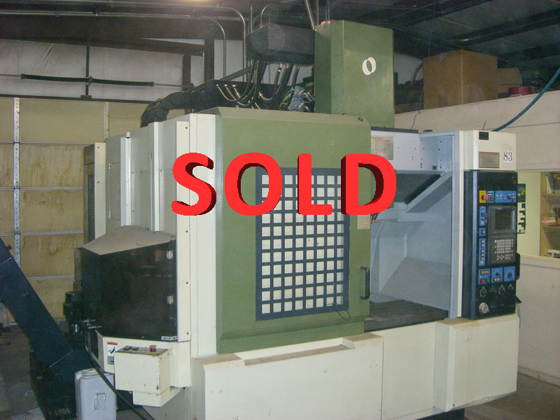 Used Vertical Machining Center Makino V55 1998