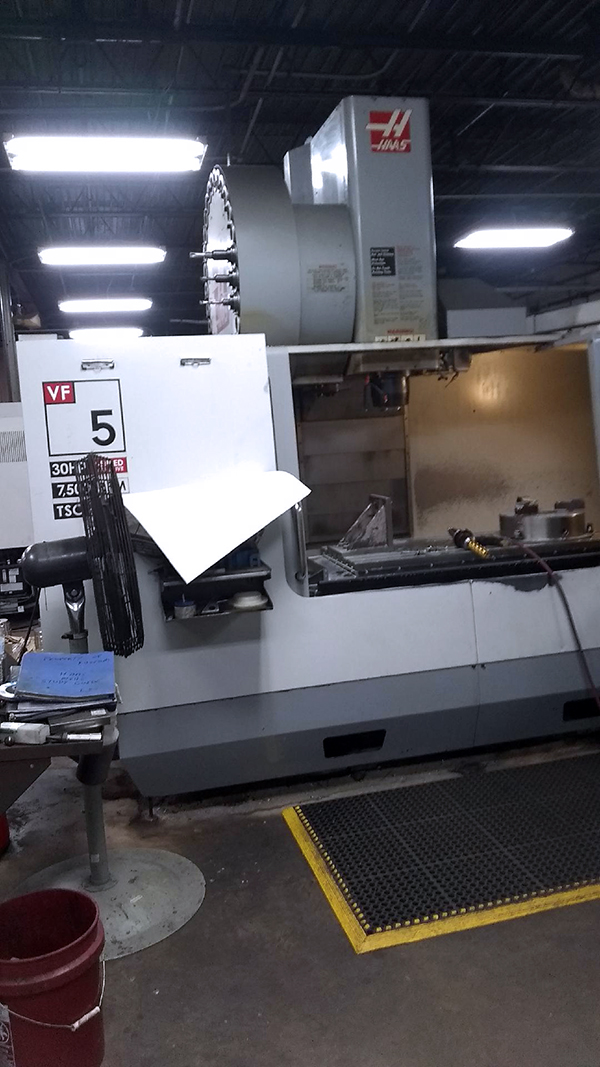 Used Vertical Machining Center Haas VF-5/50 2005