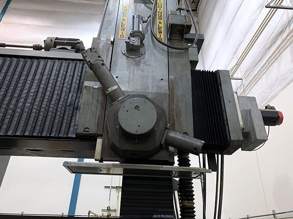 Used Vertical Turret Lathe Giddings & Lewis 72