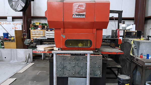 Used Turret Punch Amada OCTO-303040 1984