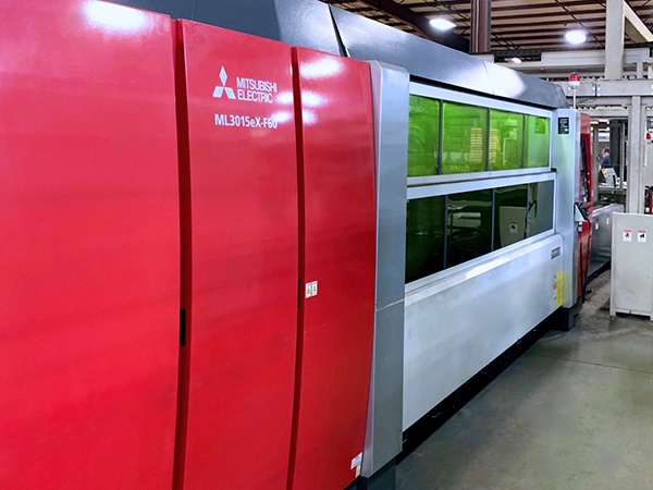 Used Laser Cutting Machine Mitsubishi ML3015 eX-F60 2016