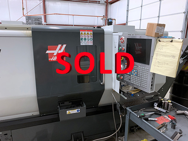 Used CNC Lathe Haas ST-20Y 2018