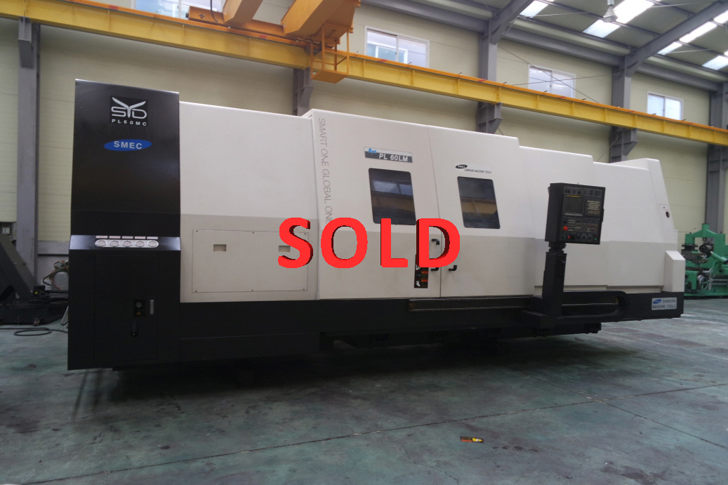 Used CNC Lathe Samsung (SMEC) PL-60MC/3200 2012