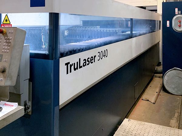 Used Laser Cutting Machine Trumpf TruLaser 3040 2014