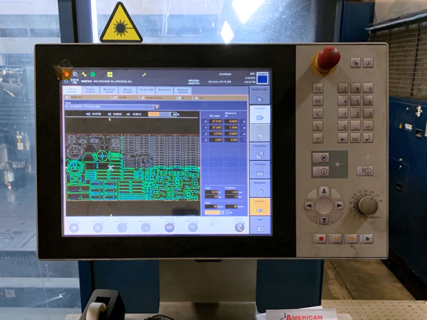 Used Laser Cutting Machine Trumpf TruLaser 3040 2014
