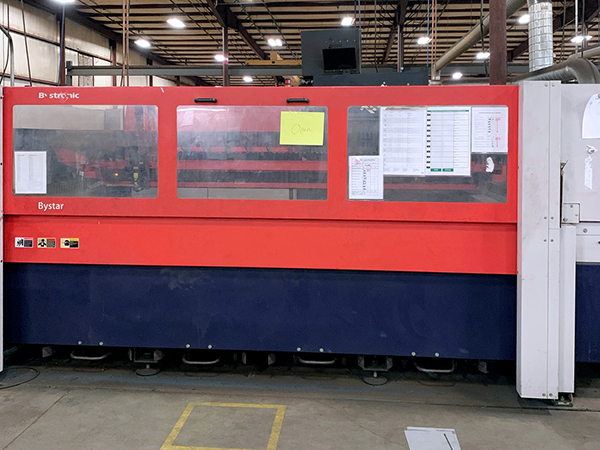 Used Laser Cutting Machine Bystronic ByStar 3015 2010