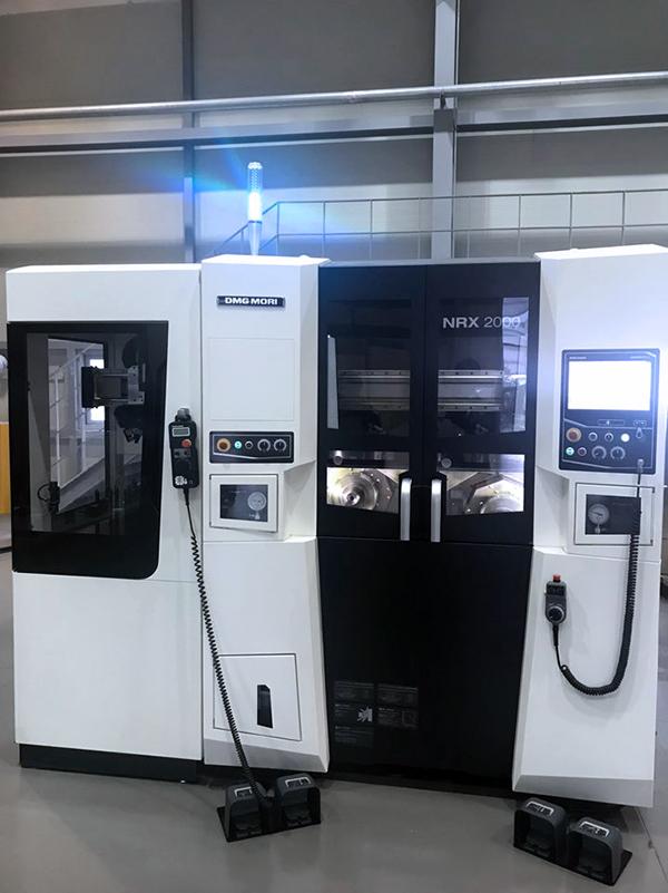 Used CNC Lathe DMG Mori Seiki NRX2000 2016