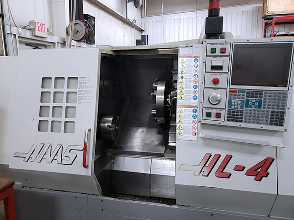Used CNC Turning Center Haas HL-4 1996