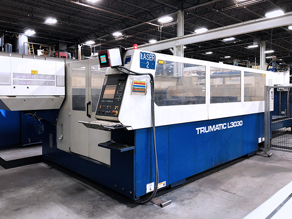 Used Laser Cutting Machine Trumpf Trumatic L3030 2006