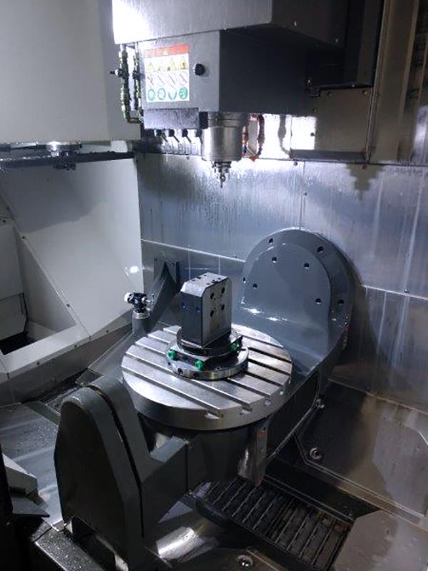 Used 5 Axis Machining Center Haas UMC-750 2017