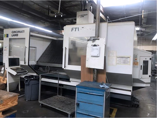 Used Vertical Machining Center Cincinnati FTV5-2500 2006