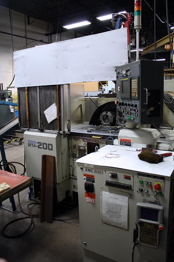 Used CNC Multi-Spindle Lathe Kitako MT4-200 2003