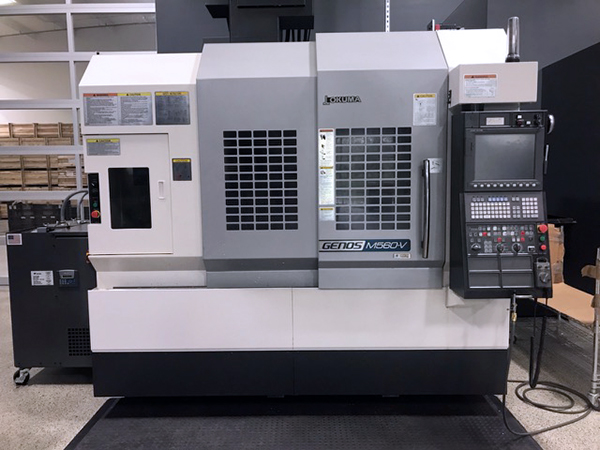 Used Vertical Machining Center Okuma Genos M560-V 2014