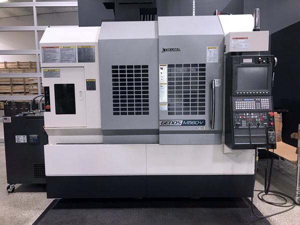 Used Vertical Machining Center Okuma Genos M560-V 2014