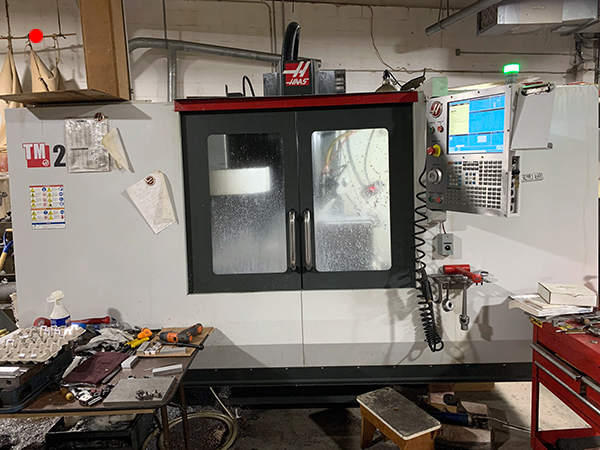 Used Vertical Machining Center Haas TM-2P 2014