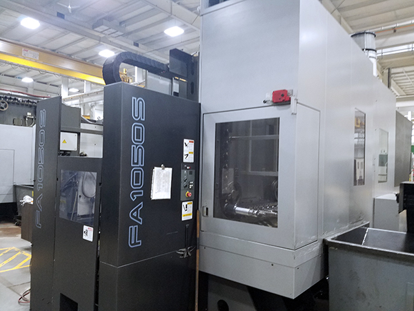 Used Horizontal Machining Center Toyoda FA1050S 2009