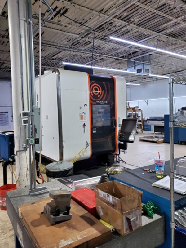 Used 5 Axis Machining Center Mazak Variaxis i-600 2017