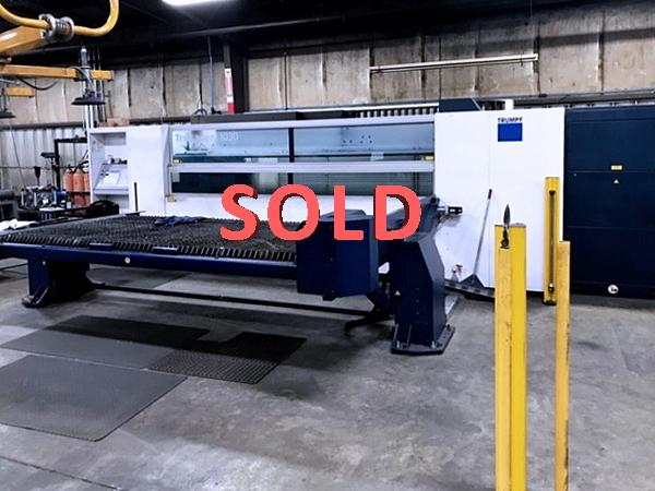 Used Laser Cutting Machine Trumpf TruLaser 1030 2014