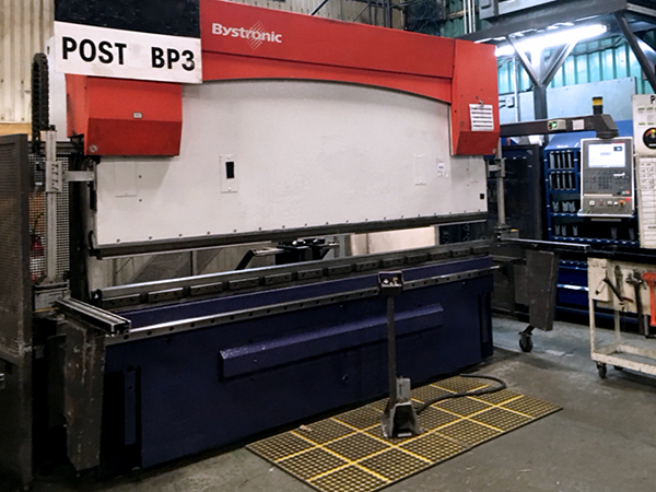 Used Hydraulic Press Brake Bystronic PR 150 x 3100 2006