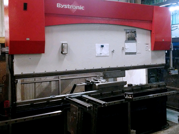 Used Hydraulic Press Brake Bystronic PR 150 x 3100 2006