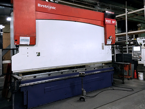 Used Hydraulic Press Brake Bystronic PR 250 x 4100 2007